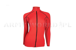 Long Sleeve Top For Women With Windprooft Membrane Brubeck Red SALE