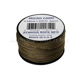 MICRO Cord (125ft) Atwood Rope MFG Coyote New