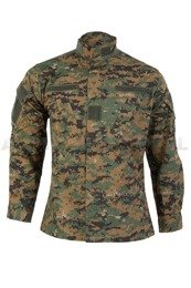 MIlitary Shirt Model ACU TESSAR Marpat (Digital Woodland) New