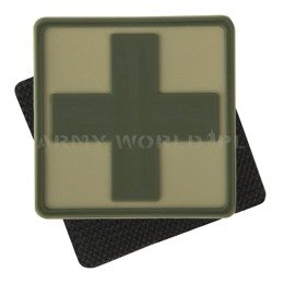 Medic Cross Patch Helikon-Tex Khaki New