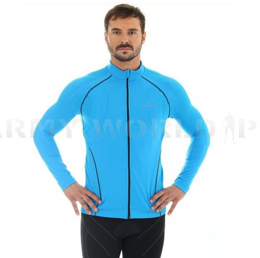 Men Shirt With Membrane Windproof Brubeck Blue SALE