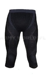 Men's Pants 3/4 Extreme Merino Brubeck Black New