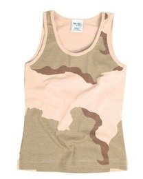 Men's Tank Top Mil-tec 3 Color Desert New