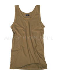Men's Tank Top Mil-tec Coyote New