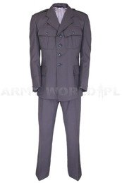 Mess Dress Uniform Jacket + Pants Grey Genuine Army Surplus Used