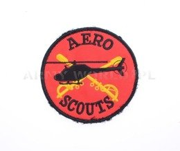 Military Badge / Emblem AERO SCOUTS Used Military Surplus