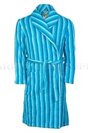 Military Bathrobe Polish Army Blue Original New