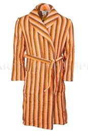 Military Bathrobe Polish Army Brown Original New
