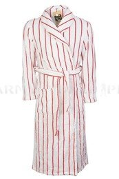 Military Bathrobe Polish Army White-Red Original New