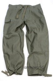 Military Belgian Cargo Trousers Nyco Oliv Original Demobil MODEL II - II Quality