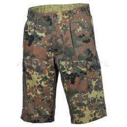 Military Bermuda Shorts Bundeswehr Flecktarn Original Demobil