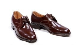 Military Czech Gala Shoes Original Brown Model 2 New