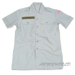 Military Danish Field Shirt Grey Original