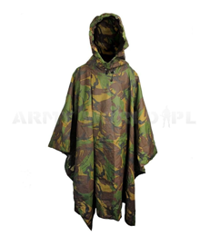 Military Dutch Rainproof Poncho DPM Original Demobil
