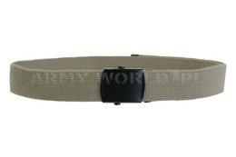 Military Dutch Sackcloth Belt Oliv Model US Original Demobil