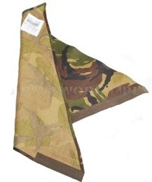 Military Dutch Triangular Wrapper DPM Woodland Original New