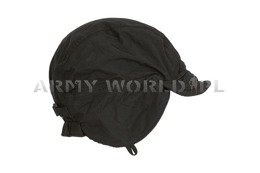 Military Dutch Ushanka Cap Waterproof With Fleece Black Original New