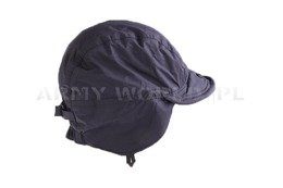 Military Dutch Ushanka Cap Waterproof With Fleece LOWE ALPINE Dark Blue Demobil