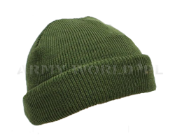 Military Dutch Woolen Cap Oliv Original New