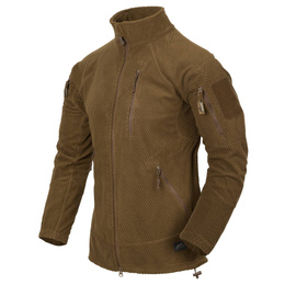Military Fleece Jacket Helikon Alpha Tactical Coyote