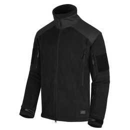 Military Fleece Jacket Helikon Liberty 390g Black New