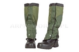 Military Gaiters Dutch Army Green Used M2