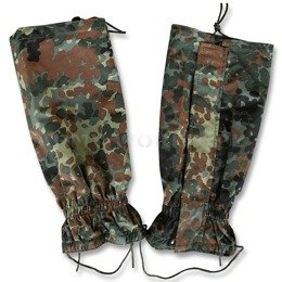 Military Gaiters Flecktarn New