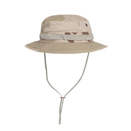 "Military Hat  ""Boonie Hat"" - Cotton Ripstop - Helikon- Tex Pustynny 3-Color Desert"
