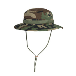 "Military Hat  ""Boonie Hat"" - Cotton Ripstop - Helikon- Tex Woodland"