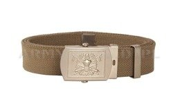 Military Italian Sackcloth Belt Oliv Model US New