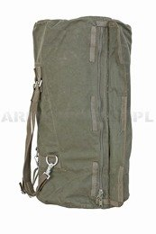 Military Marine Bag Bundeswehr With Zipper 110 Liters Original Demobil