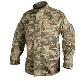 Military PCS shirt with stand-up collar - Personal Clothing System in MP Camo camouflage Helikon-tex