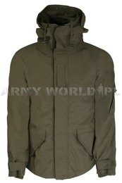 Military Rainproof Jacket With Liner Olive New