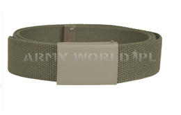 Military Sackcloth Belt Bundeswehr Oliv Original New