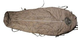 Military Sleeping Bag Bundeswehr Mummy Type Original Demobil SecondHand