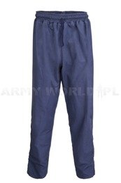 Military Sweatpants Waterproof Navy Blue Military Surplus Used