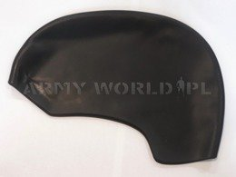 Military Swim Cap Silicone Black New
