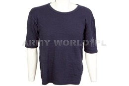 Military T-shirt Navy Blue Used