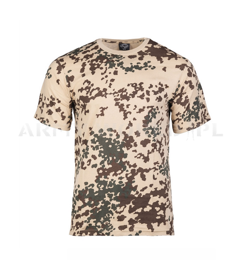 Military T-shirt Tropentarn Short sleeves Mil-tec New