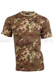 Military T-shirt Vegetato Short Sleeves Mil-tec New