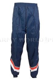 Military Training Sweatpants Navy Blue With Straps New