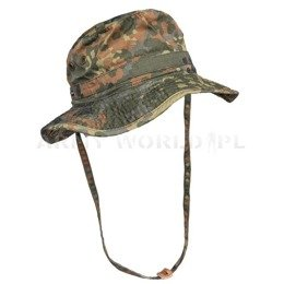 Military Tropical Hat Bundeswehr Flecktarn Original Used
