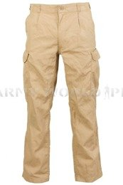 Military Trousers Ferman Cargo Pants Bundeswehr Coyote Original Used - Set of 10 pieces II Quality