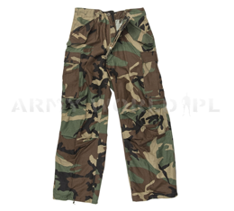 Military Trousers M65 US Army Woodland Original New