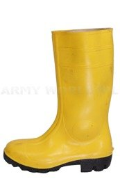 Military Wellington Boots Phoenix Bundeswehr Yellow Original New