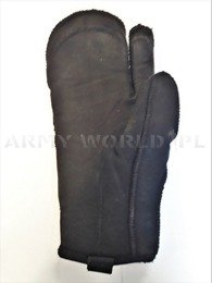 Military Winter Gloves OR Black Original Used