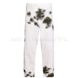 Military Winter Trousers Bundeswehr Masking Reversible Trousers Original Demobil Second Quality