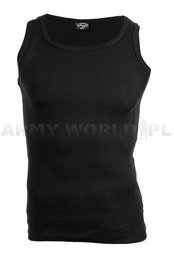 Military undershirt Tank Top Model GERIPPT Black New