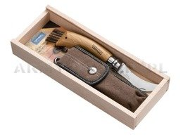 Mushroom Knife With  OPINEL INOX N°8 Natural New