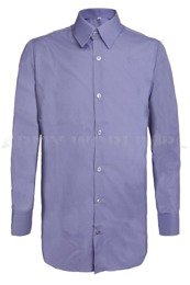 Officer Shirt With Long Sleeves 303/MON Blue Original New